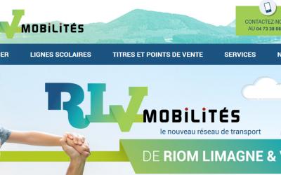 Un site web dédié à la Mobilité pour RLV