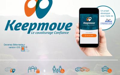 Keepmove : une appli covoiturage pour les sorties des enfants