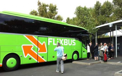 La croissance de Flixbus sur Clermont