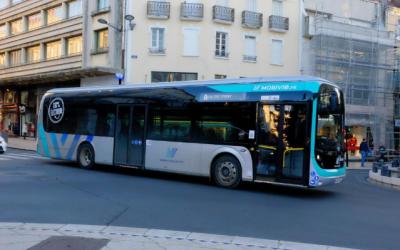 Les bus électriques de Vichy Communauté roulent depuis le 05 novembre