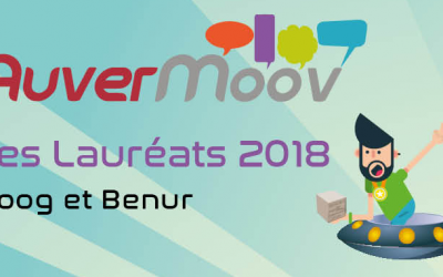 Qui sont les 2 lauréats Auvermoov' 2018?