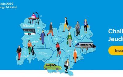 Challenge Mobilité de la Région : 6 juin 2019